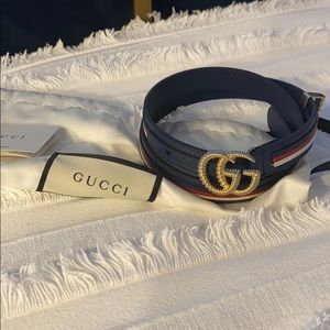 NWT Gucci Marmont Small Logo Belt